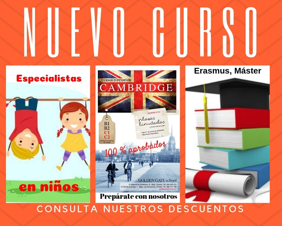 Nuevo Curso de Inglés en Oviedo